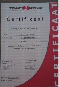 Certificaat Diabetes: Leefstijl & Voeding